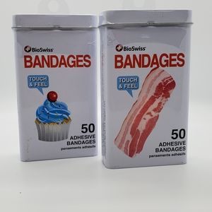 BioSwiss Bacon and Cupcake Bandages
